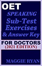 OET Speaking (with 20 Sample Role-Plays) For Doctors by Maggie Ryan: Updated OET Preparation Book: 2021 Edition