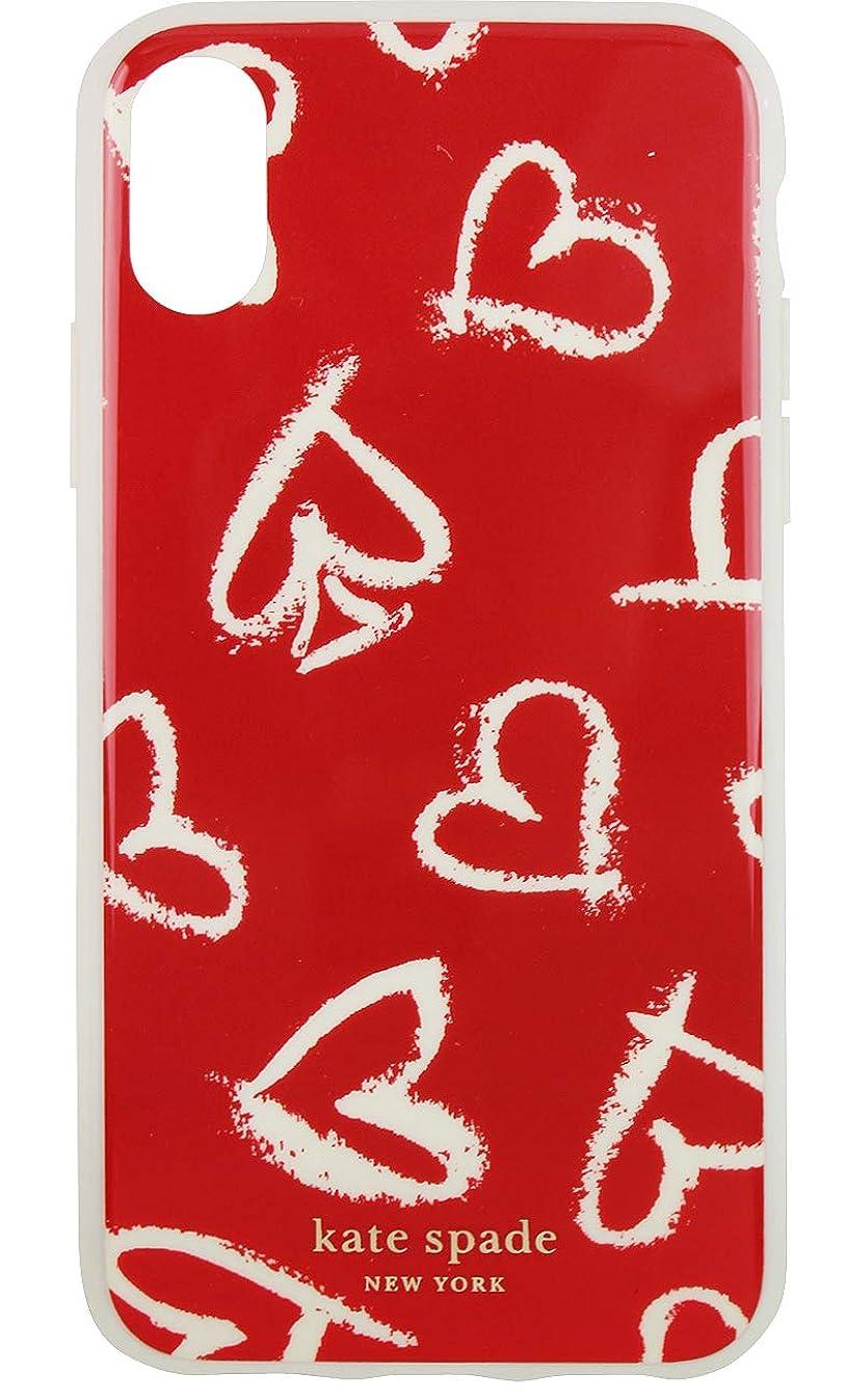 橋平衡円周ケイトスペード Kate Spade iPhone XS X スマートフォン スマホ ケース 携帯 カバー ハート スキャッター