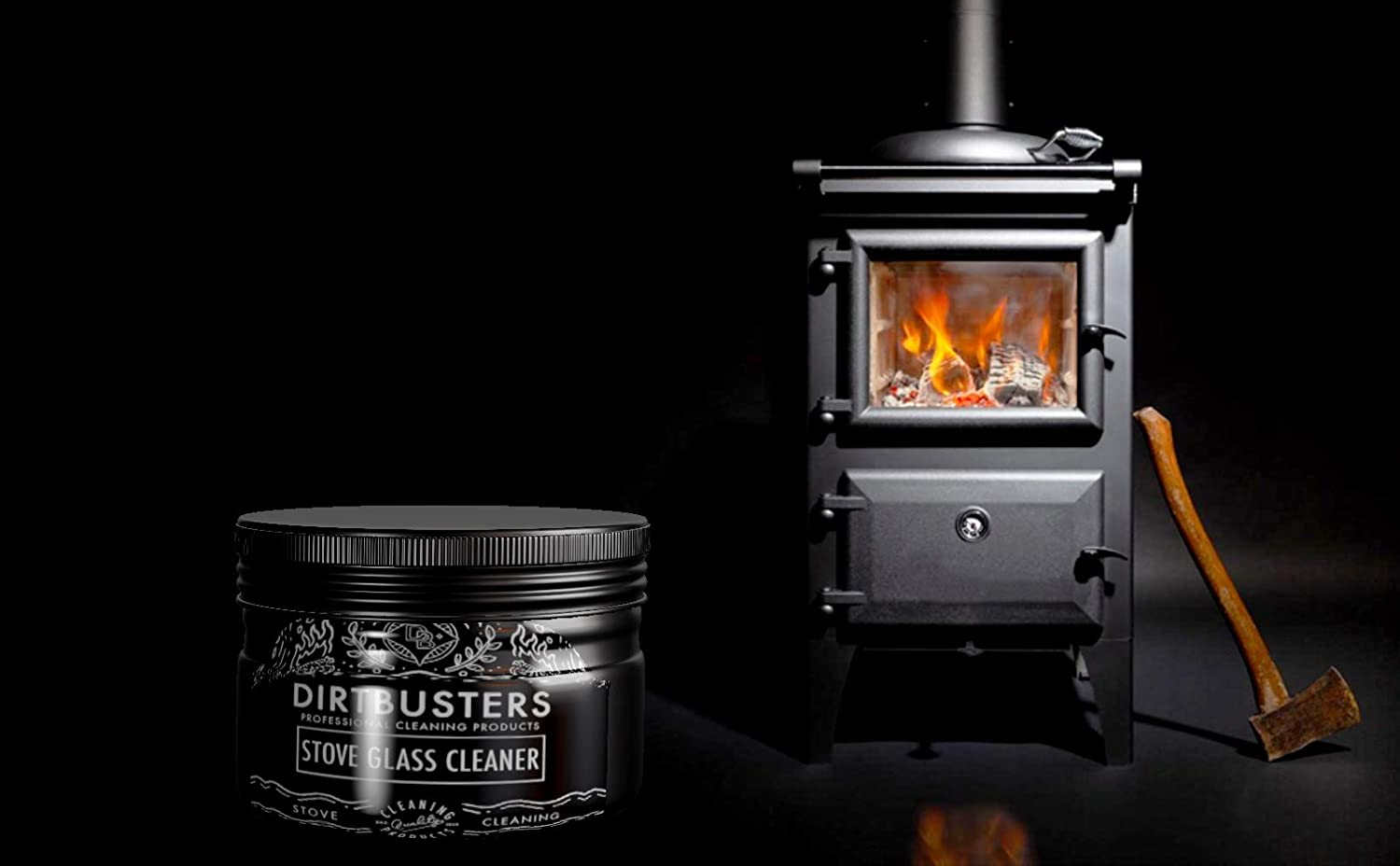 Buy Dirtbusters Stove Glass Cleaner Professional stove glass ...