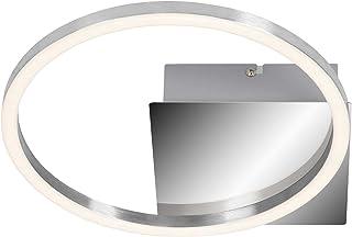 Briloner Leuchten led, lámpara de Techo Regulable con función de Memoria, 7,5W, 750lúmenes, 3000Kelvin, Cromo 260x60mm (LargoxAnchoxAlto), aluminio cromado