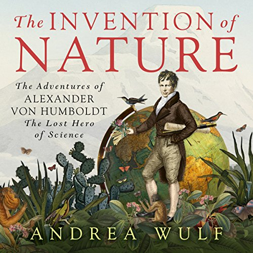 The Invention of Nature audiobook cover art