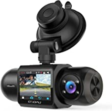 Uber Dual 1080P FHD Built-in GPS Wi-Fi Dash Cam, Front and Inside Car Camera Recorder with Infrared Night Vision, Sony Sen...