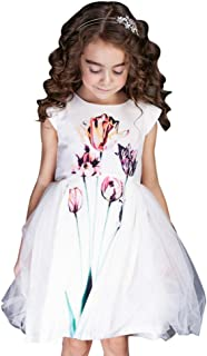 flower girl dress with ruffled skirt