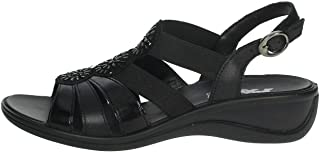 Imac 508830 Sandali Donna con Cinturino alla Caviglia Neri