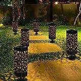 Solarleuchte Garten, Solar Gartenleuchte Solarleuchten Garten Wasserdicht IP65, Solarlampen für Garten LED Solarleuchte Dekoration Licht für Außen Terrasse, Rasen, und Garten Hofwege