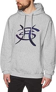 JamieBrown Mens Heroes Del Silencio Logo Sweater Gray with Mens Sweatshirts