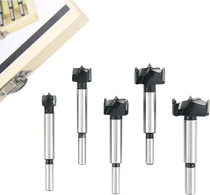 24 opinioni per Set di punte Forstner in acciaio al carbonio Set foro per punta in metallo duro