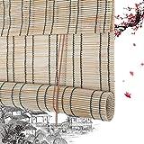 Persianas Enrollables De Bambú Persianas Romanas De Bambú Escudos De Privacidad Persianas Enrollables Persianas Enrollables De Madera - Cortinas De Plástico Cortina De PE Use Diferentes Escenas