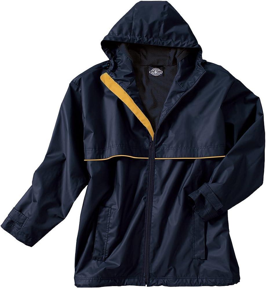 Charles River Apparel Men's New Englander Waterproof Rain Jacket (Reg & Ext Sizes)