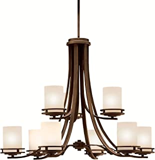 Chandeliers 9 Light with Olde Bronze Finished Medium Base Bulb 33 inch 900 Watts
