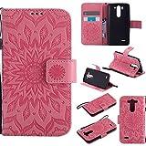 Cas de téléphone portable For le cas de LG G3 Vigor / G3 Mini / G3 Beat / G3s D725 D722, étui de protection de lanière de...