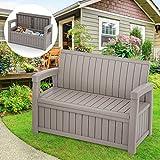 Cozy Castle Outdoor Storage Bench