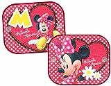 Disney MI-SAA-010, Parasol para coche Minnie Mouse, 36 x 44 cm, pack de 2