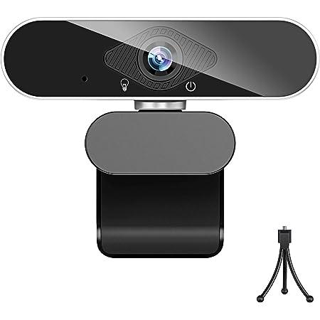 ウェブカメラ フルHD 1080P 200万画素 X-Kim webカメラ マイク付き usb ノイズ対策 ストリーミング フォーカス pcカメラ 外付け 広角 usbカメラ 小型 自動光補正 挿すだけ使える 在宅勤務 リモートワーク 動画配信 ビデオ会議 オンライン授業 WindowsXP/7/8/10 AndroidTV skype Youtube zoom対応 …