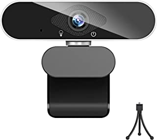 ウェブカメラ フルHD 1080P 200万画素 X-Kim webカメラ マイク付き usb ノイズ対策 ストリーミング フォーカス pcカメラ 外付け 広角 usbカメラ 小型 自動光補正 挿すだけ使える 在宅勤務 リモートワーク 動画配信...