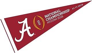 Alabama Crimson Tide 2016 National Championship Pennant