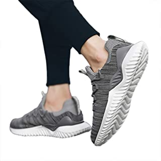 Remanlly Sports Shoes Low-Top Woven Breathable Sneakers Running Shoes Wild Outdoor Casual Shoes Men's Shoes