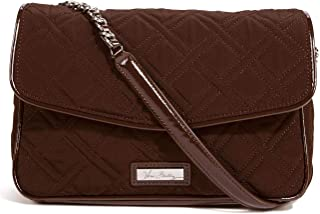 Vera Bradley Bag For Women,Chocolate Brown - Flap Bags