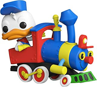 Funko Pop! Disney: Casey Jr. Circus Train Ride - Figura de vinilo de Donald Duck con motor