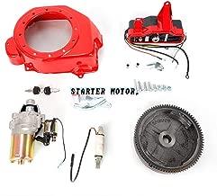 Starter Motor, TBVECHI Electric Start + Starter Motor Ignition FlyWheel Fan Cover Fit Honda GX160 GX200