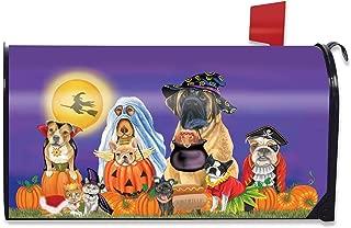 Briarwood Lane Trick or Treat Dogs Halloween Magnetic Mailbox Cover Cat Jack O'Lantern Standard