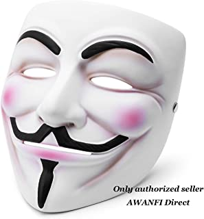 guy fawkes mask deluxe