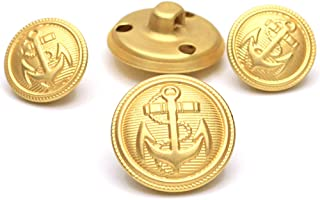 gold military buttons