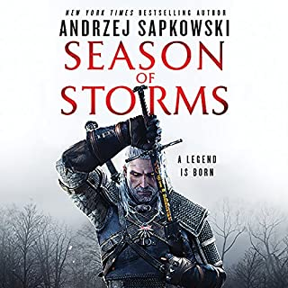 Season of Storms                   Written by:                                                                                                                                 Andrzej Sapkowski,                                                                                        David A French - translator                               Narrated by:                                                                                                                                 Peter Kenny                      Length: 11 hrs and 45 mins     52 ratings     Overall 4.7