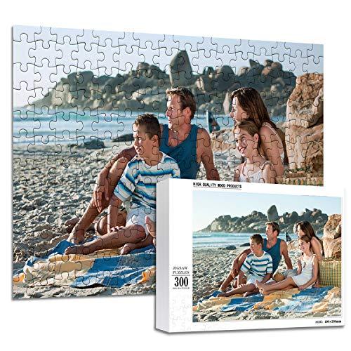 Rompecabezas Personalizados de Fotos 1000 500 300 200 Piezas Rompecabezas Personalizado con Imágenes para Adultos y Adolescentes (300 pedazo)