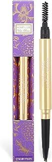 مداد ابرو جهانی Winky Lux Uni-Brow ، نیویورک لوازم آرایشی با مداد ابرو با نوک دوئل برای ابروهای کاملاً مایل به زرد ، برس ها را از قهوه ای تیره تا موهای بلوند ، 0.09 اونس