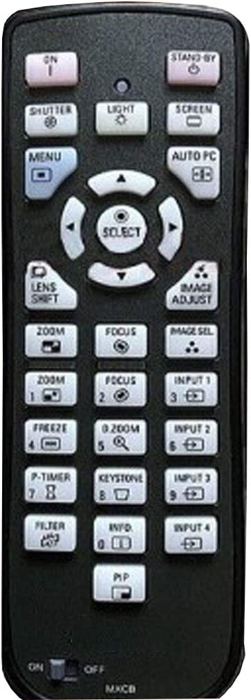 AKOOTE New Remote Max 79% OFF 2021 model Control fit PLC-XT3500C for Projector Sanyo PL