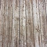 Stoff Meterware Bretter beige Schiffsplanken Holzboden