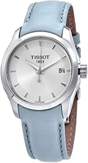 Tissot Couturier Lady Quartz Watch Light Blue T035.210.16.031.02