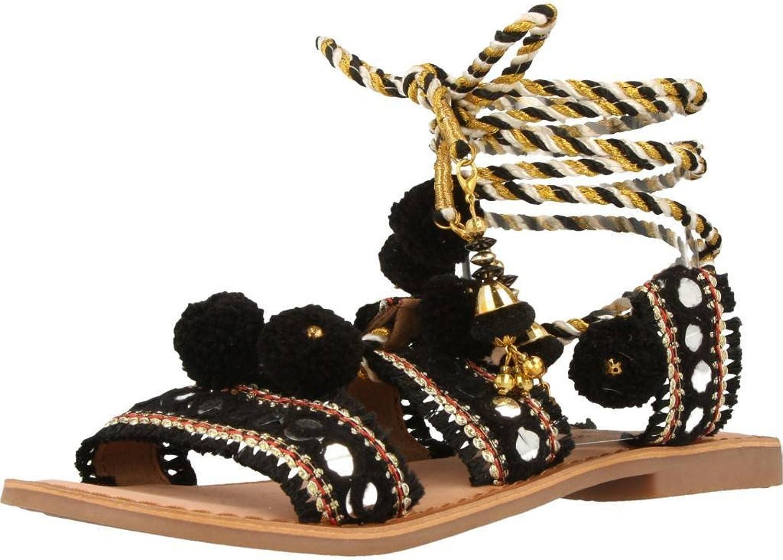 Gioseppo Women's Leather Sandals, TAKIRI_40503R_black