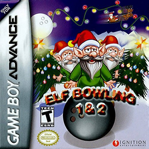 Elf Bowling 1 and 2 - Game Boy Advance by Ignition Entertainment