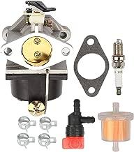 Milttor 640065 Carburetor Fit Tecumseh 640065A Carburetor Lawn Mower Tecumseh OHV125 OHV130 OVH135 OHV110 OHV115 OHV120 OV358EA 4-Cycle Vertical Shaft Engines