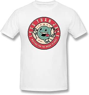 CoolT Men Less Than Jake - Bomb Comfortable T Shirts White M