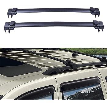 Amazon Com Brightlines Roof Rack Crossbars Compatible With 2018 2020 Jeep Compass Automotive