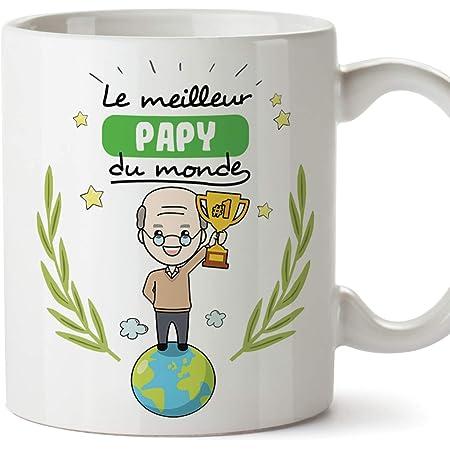 Ce grand-père appartient Tasse papy anniversaire cadeau de Noël Tasse Personnalisé Pappy