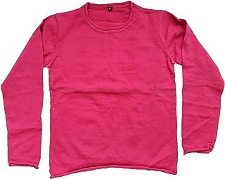 Hallucination Sweater for Baby Girls Pink Woollen Pullover Thin Lightweight Soft Cozy Warm Cute Woolen Crew Neck Sweater f...