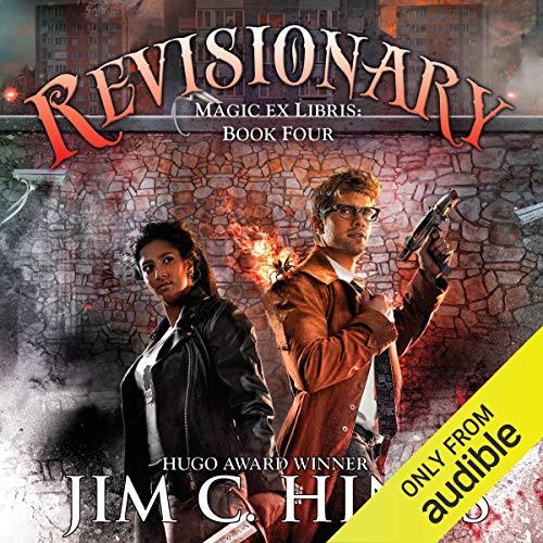 Revisionary Audiobook By Jim C. Hines cover art