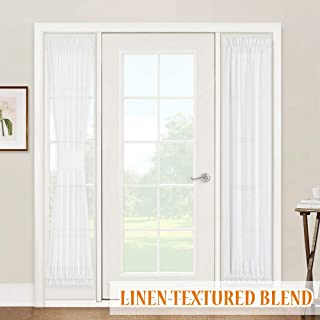 Best glass front door curtains Reviews