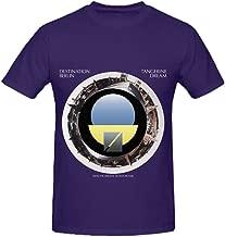 Tangerine Dream Destination Berlin Rock Mens O Neck Big Tall T Shirts Purple