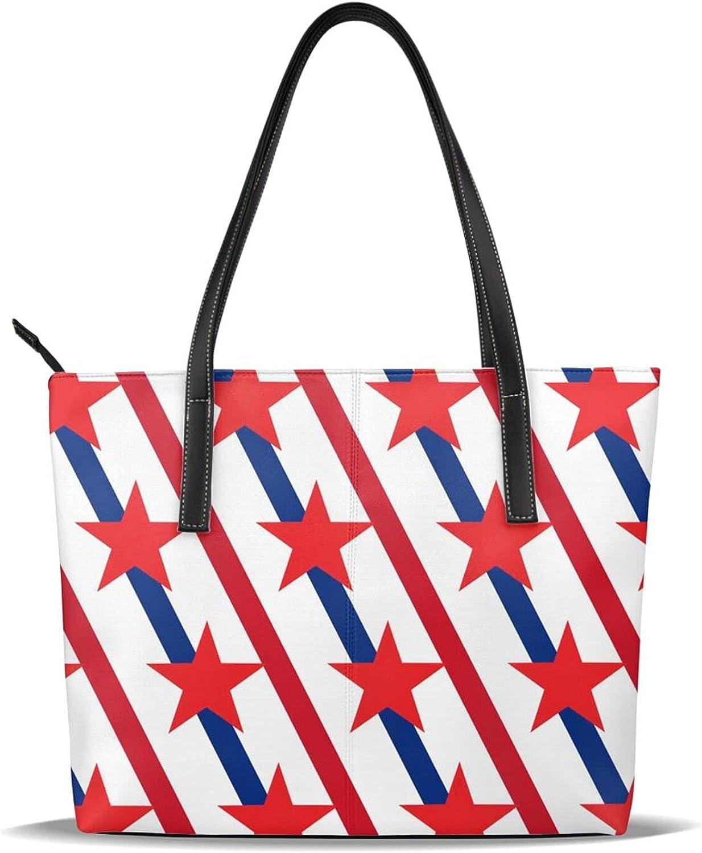 quality assurance Pu Leather Printed Pattern Casual Tote Washington Mall Shoulder Bag Pur Handbags