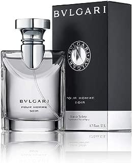 Bvlgari Pour Homme Soir for Men | Eau de Toilette | Rich, Elegant, Woody Scent |..