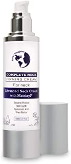 Complete Neck Firming Cream – Advanced Neck Cream with Matrixyl – Neck firming for tightening and wrinkles 1.7oz from Earth's Daughter