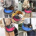 BIGWING Style Pet Sling Carrier for Dog Cat Pets Travel Shoulder Bags (L, Blue) 11