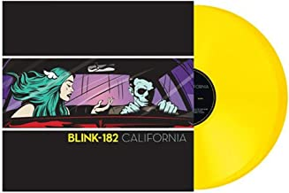Blink 182-CALIFORNIA DELUXE POP-UP EDITION - Exclusive Double Translucent Yellow Vinyl [lp_record]