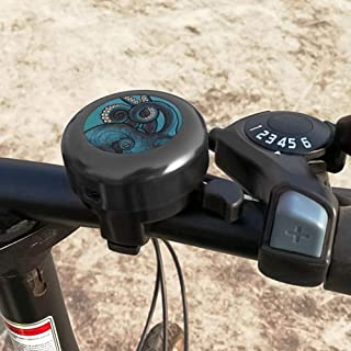 Illians Detachable Bicycle Bell Ringing Sound Cycling Ring Safe Bike Accessory for Child Adult #JwxE5D Black