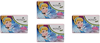 Pack of 4 - Biotique Cindrella Disney Princess Almond Nourishing Soap for Kids - 75g